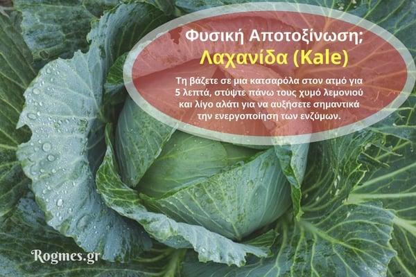Λαχανίδα για φυσική αποτοξίνωση του οργανισμού