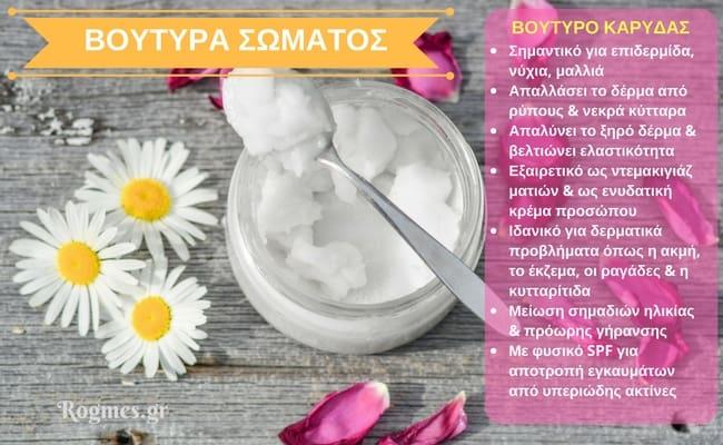 Ενυδάτωση σώματος με φυσικά προϊόντα - Βούτυρο καρύδας_1