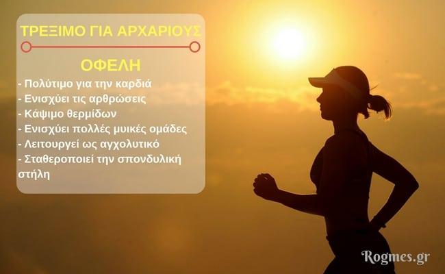 Συμβουλές για τρέξιμο & μείωση βάρους
