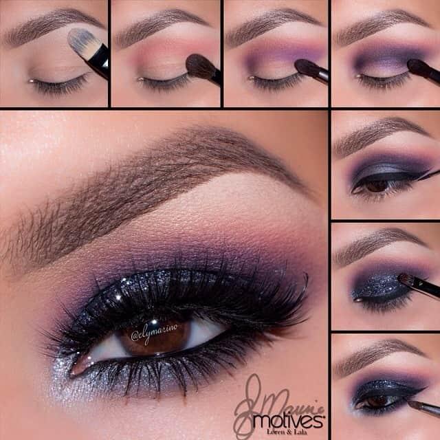 Μακιγιάζ ματιών -βήματα