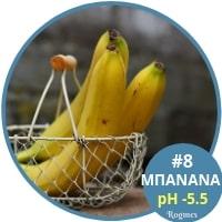 Αλκαλικές τροφές - Μπανάνα