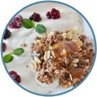 Υγιεινό πρωινό - Γιαούρτι απλό