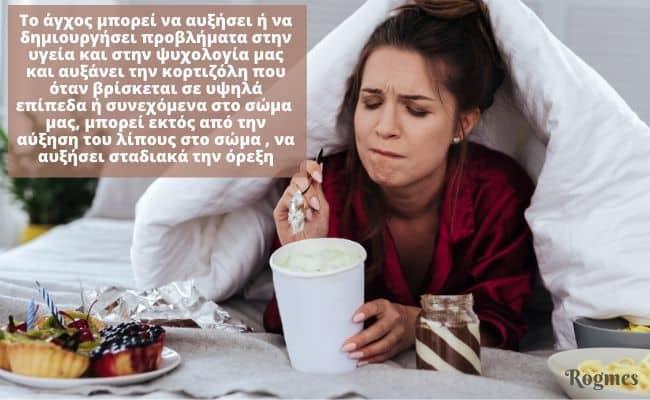 Άγχος και κορτιζόλη