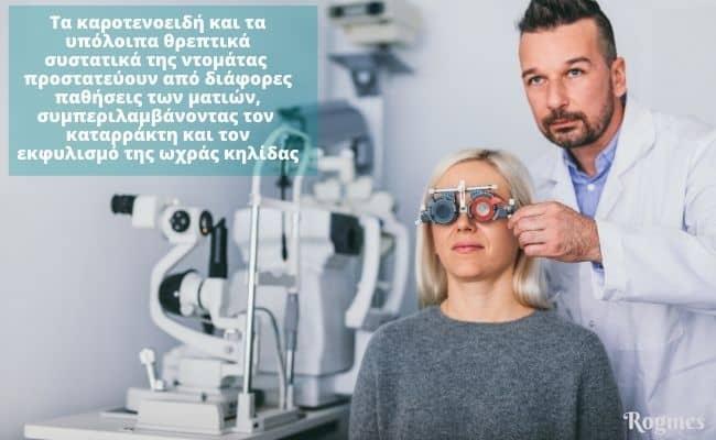 Βιταμίνη Α και υγεία ματιών