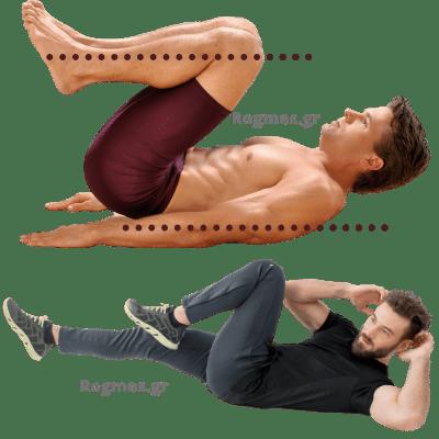 Ασκήσεις κοιλιακών