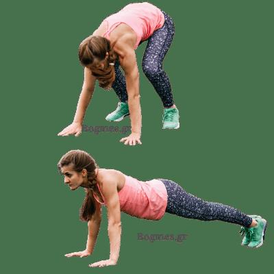 Άσκηση για το λίπος κοιλιάς