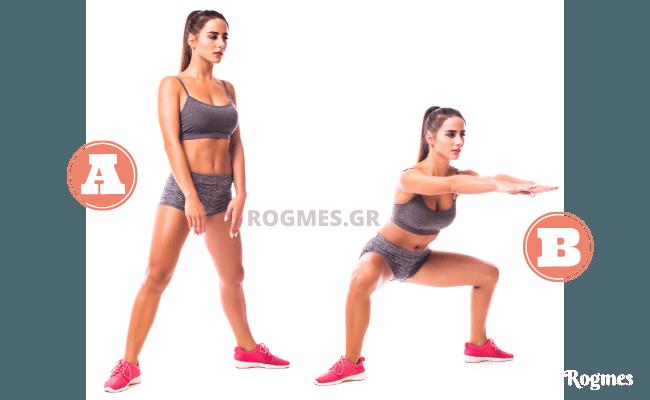 Άσκηση 1η – Βαθύ κάθισμα