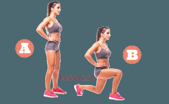 Άσκηση #4 – Προβολές ποδιών